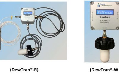 Roscid's DewTran series,  a new series of two stage chilled mirror hygrometers.